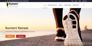 ecommerce sports retail website design Marlow