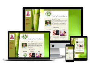carmel acupuncture website design