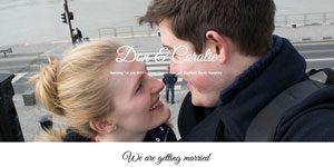 wedding website design Hertofrdshire