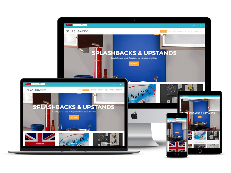 splashback website design