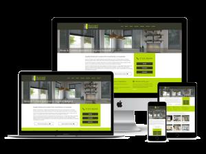Buzzard Blinds website design Leighton Buzzard