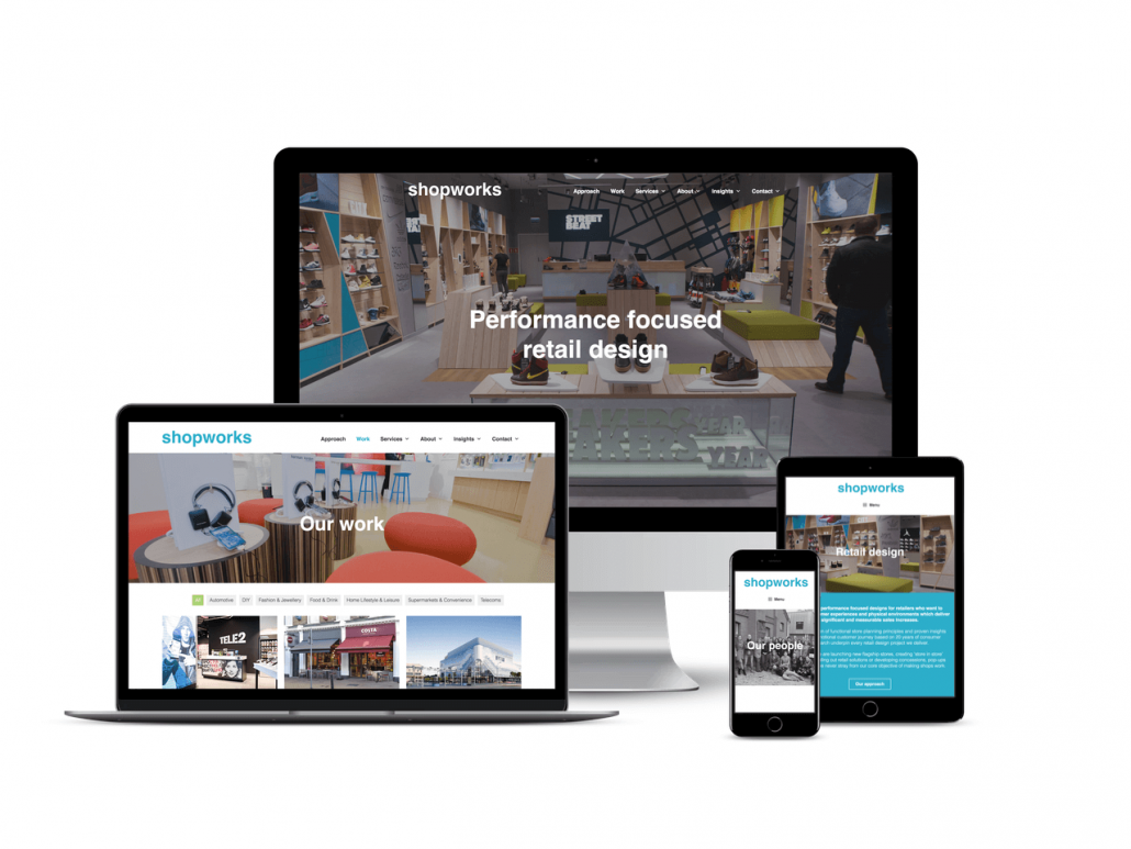 Shopworks Berkhamsted website design