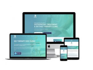 Osteopath website design Berkhamsted