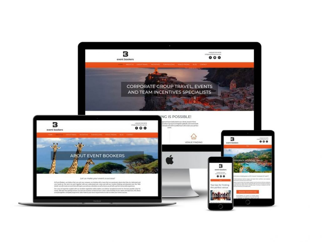 Travel agent website design Hertfordshire
