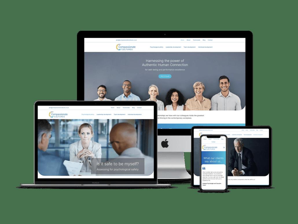 compassionate cultres website design